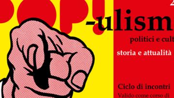 Serie di incontri sui movimenti e i leader populisti nel mondo