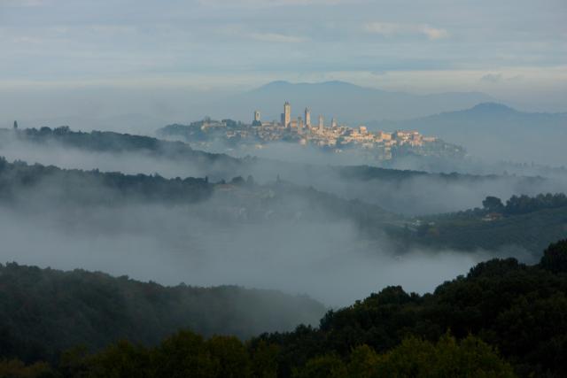 Lo skyline turrito di San Gimginano