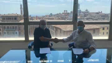 Firma accordo Ricceri e Guasconi