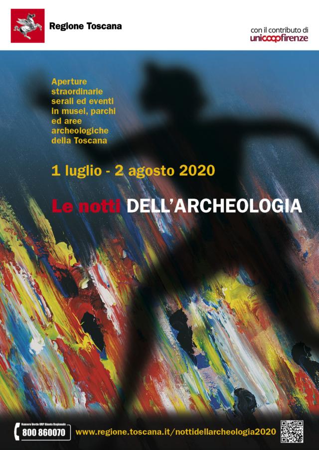 notti dell'archeologia locandina generale