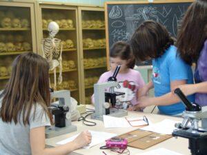 Laboratori ESCAC al Museo Anatomico
