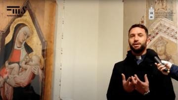 Don Enrico spiega Ambrogio Lorenzetti