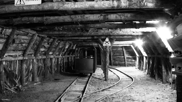 Piccolo minatore Abbadia San Salvatore Galleria EDU