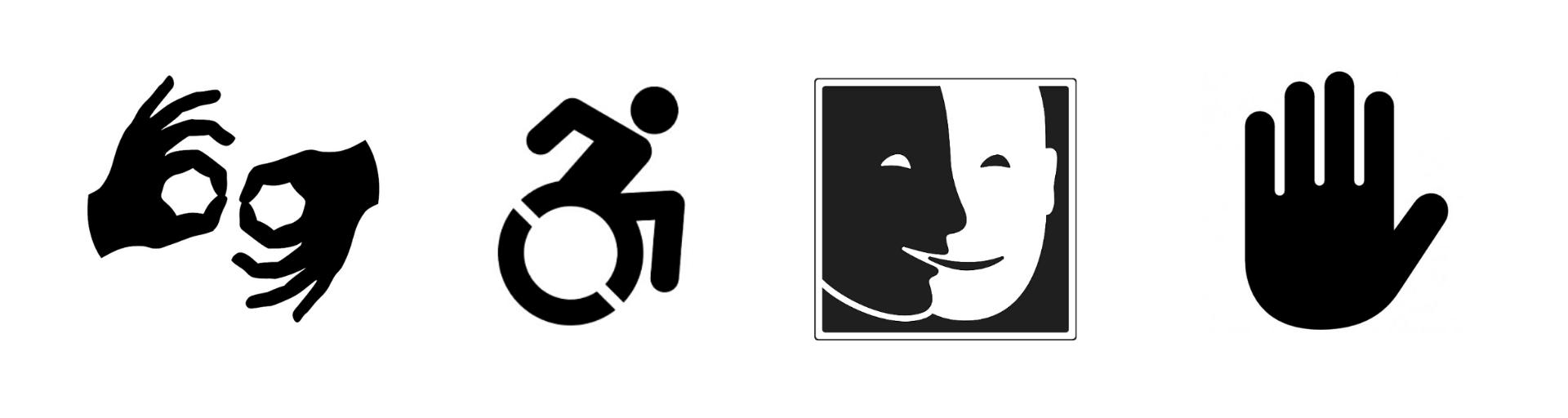 vietato non toccare museo di murlo Pittogrammi accessibilità del museo per tutti