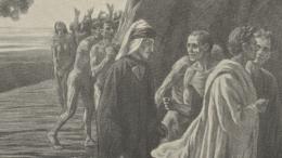 Casole mostra dante: qual grazia m'è questa le illustrazioni di Augusto bastianini in mostra a Casole